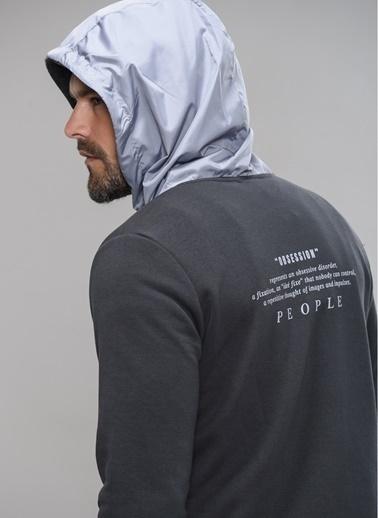 People By Fabrika Sweatshirt Antrasit